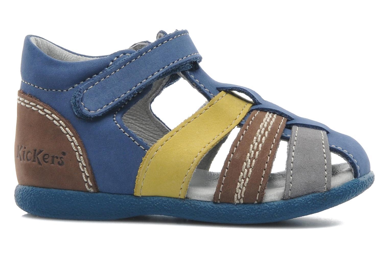 Sandales et nu-pieds Kickers Babysun Bleu vue derrière