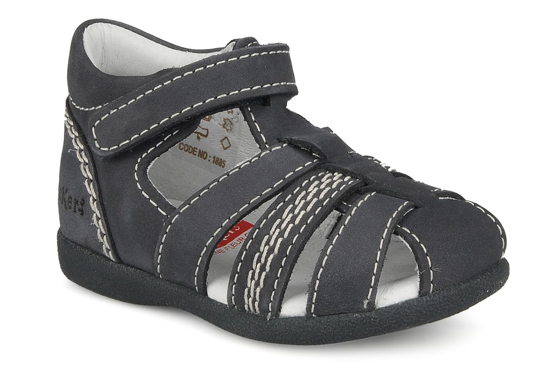 Sandales et nu-pieds Kickers Babysun Bleu vue détail/paire