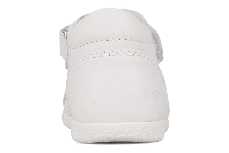 Sandales et nu-pieds Kickers Babysun Blanc vue droite