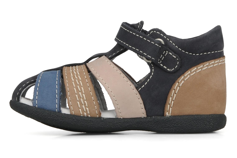 Sandales et nu-pieds Kickers Babysun Bleu vue face