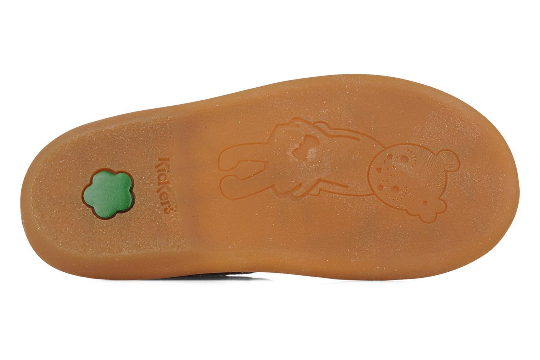 Sandales et nu-pieds Kickers Milki Beige vue haut