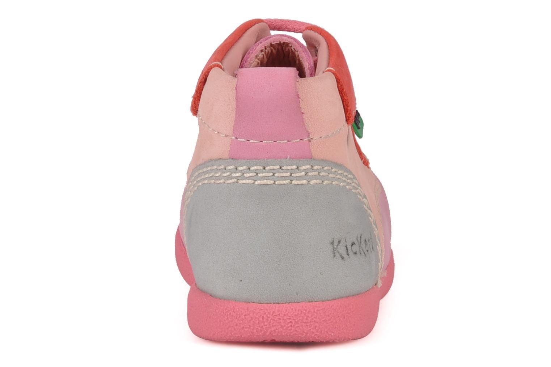 Stiefeletten & Boots Kickers Babystart rosa ansicht von rechts
