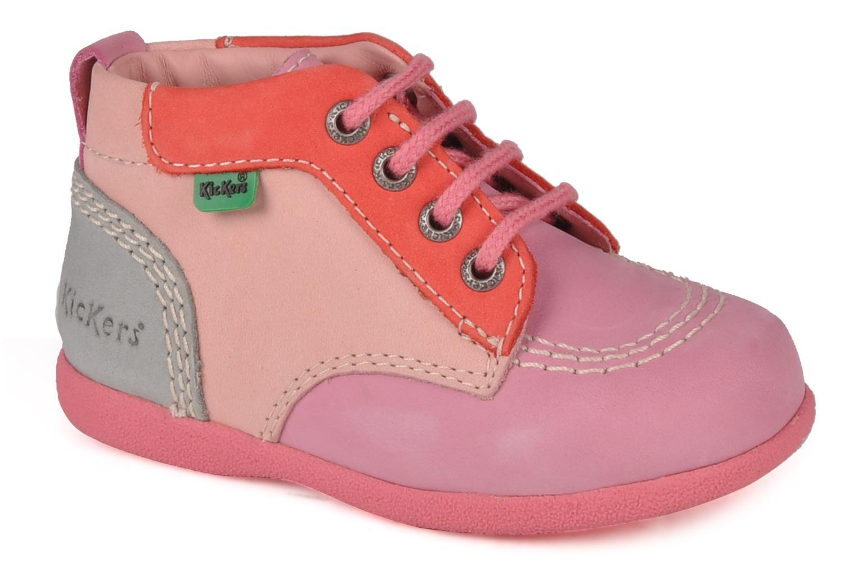 Stiefeletten & Boots Kickers Babystart rosa detaillierte ansicht/modell
