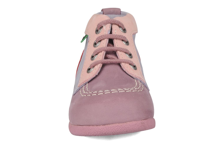 Stiefeletten & Boots Kickers Babystart lila schuhe getragen