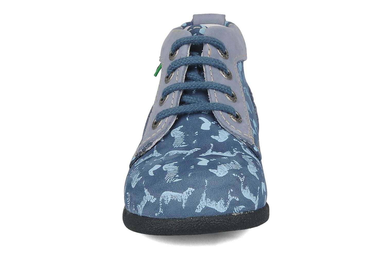 Bottines et boots Kickers Babystart Bleu vue portées chaussures