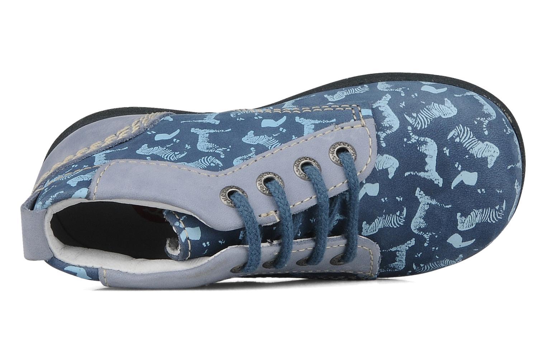Bottines et boots Kickers Babystart Bleu vue gauche
