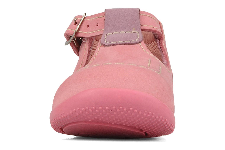 Bottines et boots Kickers Bonbek minnie Rose vue portées chaussures