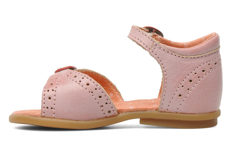 Sandales et nu-pieds Kickers Stella Rose vue face