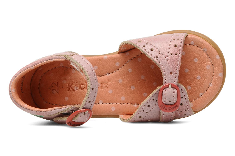 Sandales et nu-pieds Kickers Stella Rose vue gauche