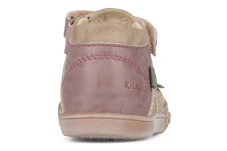 Stiefeletten & Boots Kickers Trankil beige ansicht von rechts