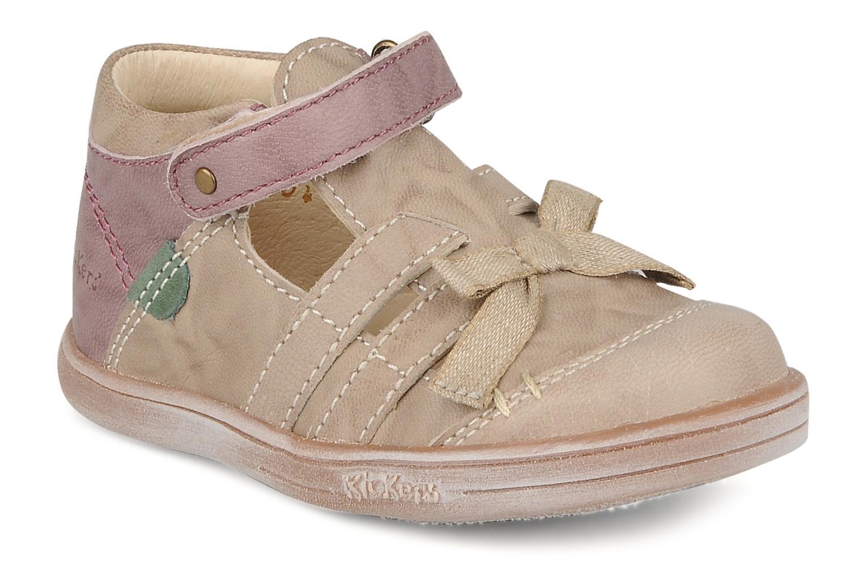 Stiefeletten & Boots Kickers Trankil beige detaillierte ansicht/modell