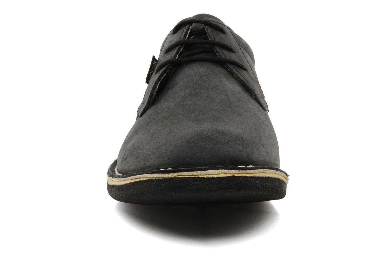 Schnürschuhe Kickers Urban schwarz schuhe getragen