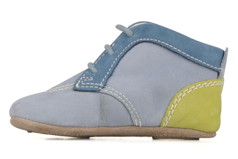 Stiefeletten & Boots Kickers 2B Big blau ansicht von vorne