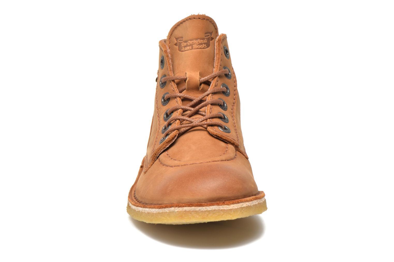 Chaussures à lacets Kickers Kick legend Beige vue portées chaussures