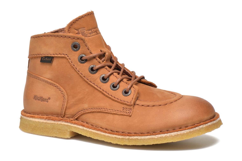 Chaussures à lacets Kickers Kick legend Beige vue détail/paire
