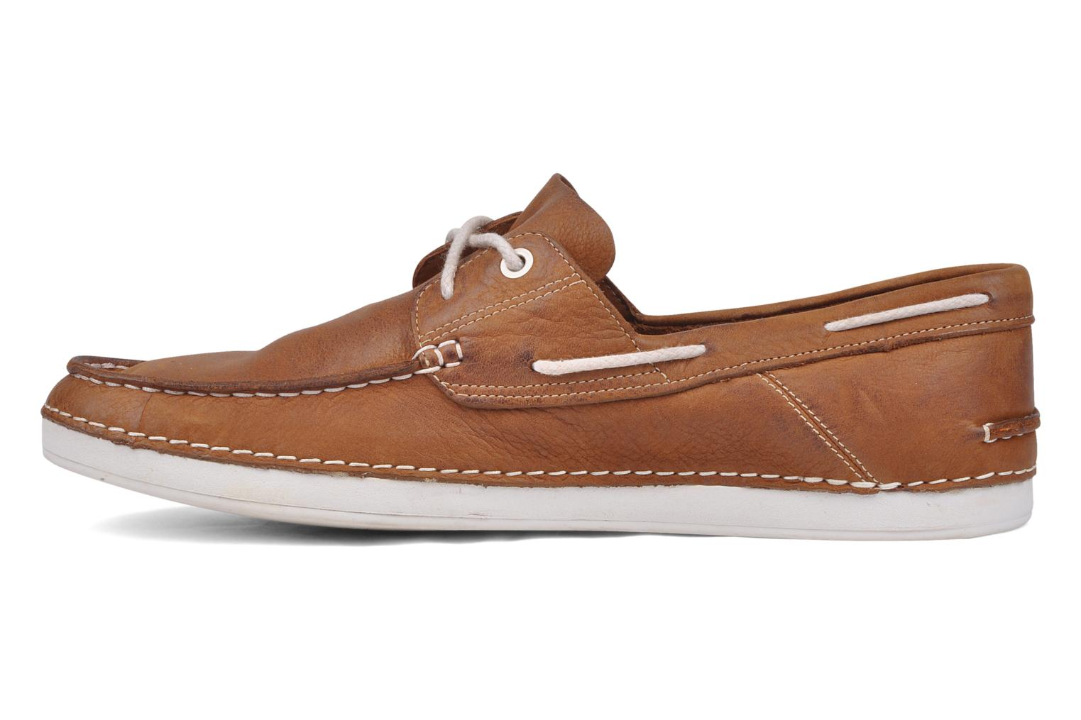 Chaussures à lacets Timberland Earthkeepers 2.0 2 eye boat Marron vue face