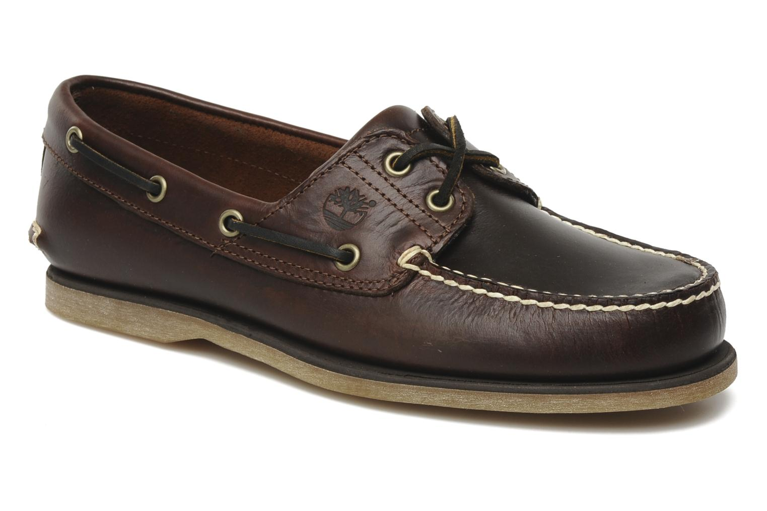 Classic boat classic 2 tone 2 eye Rootbeer Smooth