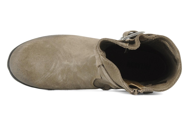 Stiefel Palladium Daisy kid sud braun ansicht von links