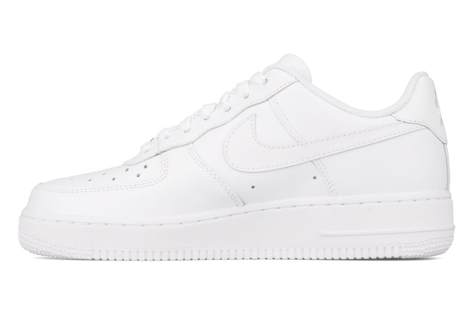 Baskets Nike Air force 1 '07 le Blanc vue face