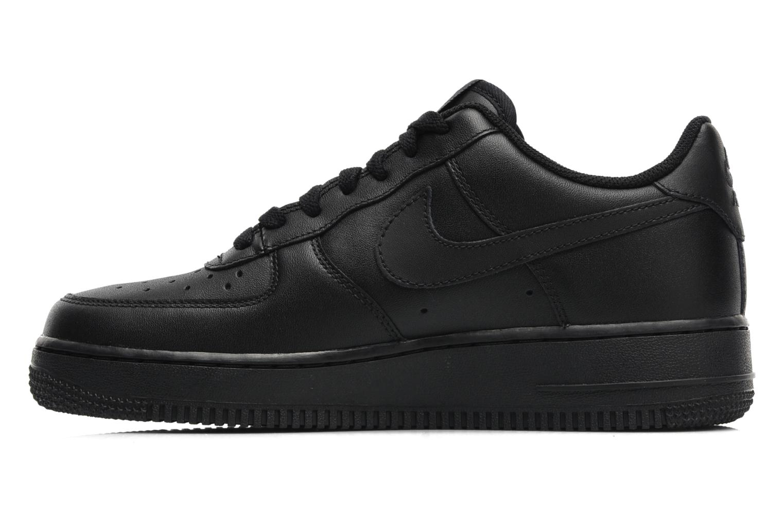 Sneakers Nike Air force 1 '07 le Nero immagine frontale