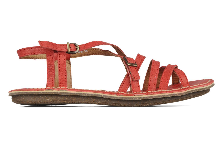 Sandales et nu-pieds Kickers Pinuts 2 Rouge vue derrière