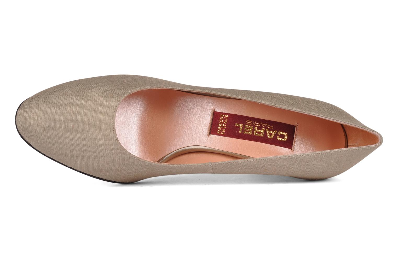 Zapatos de tacón Carel Verveine Beige vista lateral izquierda