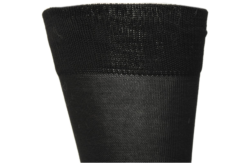Chaussettes et collants Sarenza Wear Chaussettes Homme Fil d'Ecosse unies Noir vue gauche