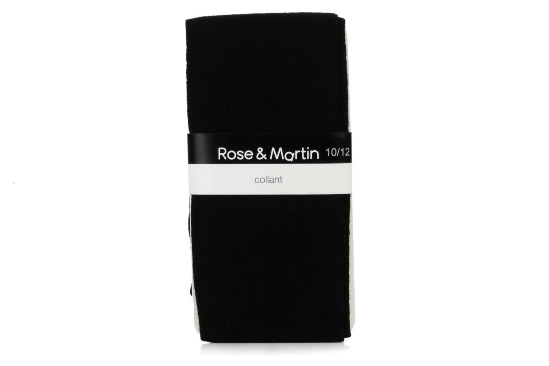 Chaussettes et collants Rose & Martin Collant rosay Noir vue droite
