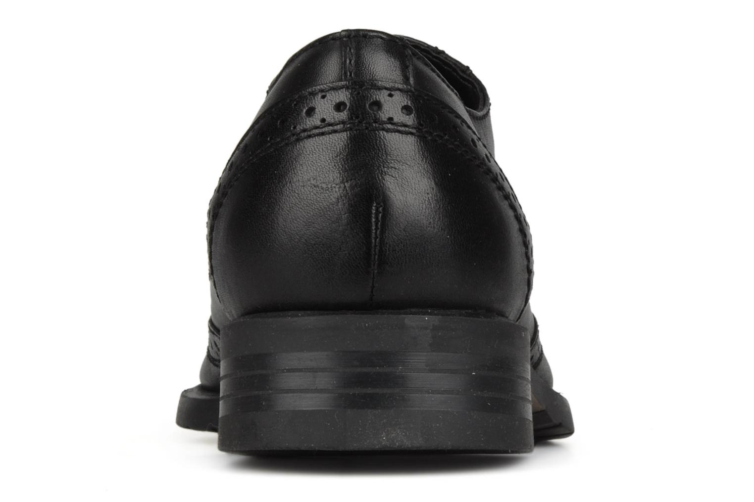 Lace-up shoes Hush Puppies Eastfield Black view from the right