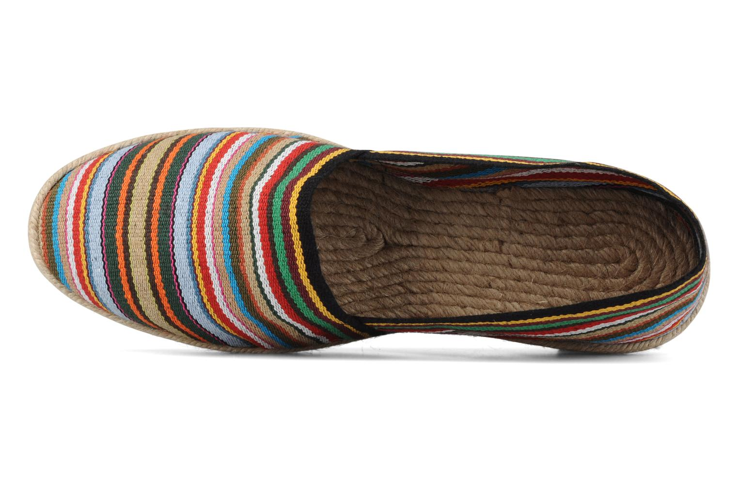 Espadrilles La maison de l'espadrille Sabline Rayure H Multicolor view from the left