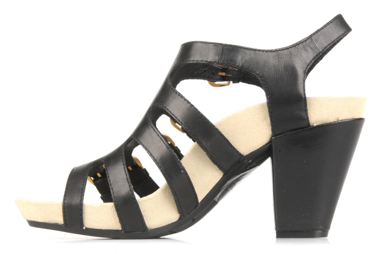 Sandales et nu-pieds Kalso Earth Larissa Noir vue face