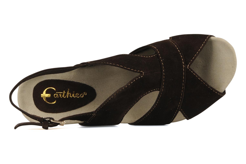 Sandales et nu-pieds Kalso Earth Monaco Marron vue gauche