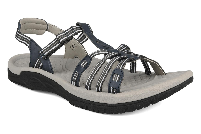 Sandales et nu-pieds Kalso Earth Puerta Gris vue détail/paire