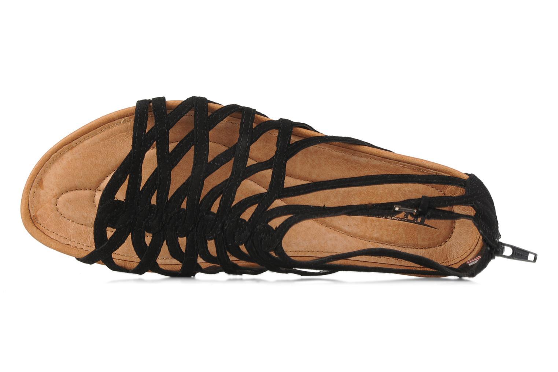 Sandales et nu-pieds Kalso Earth Exquisite Noir vue gauche