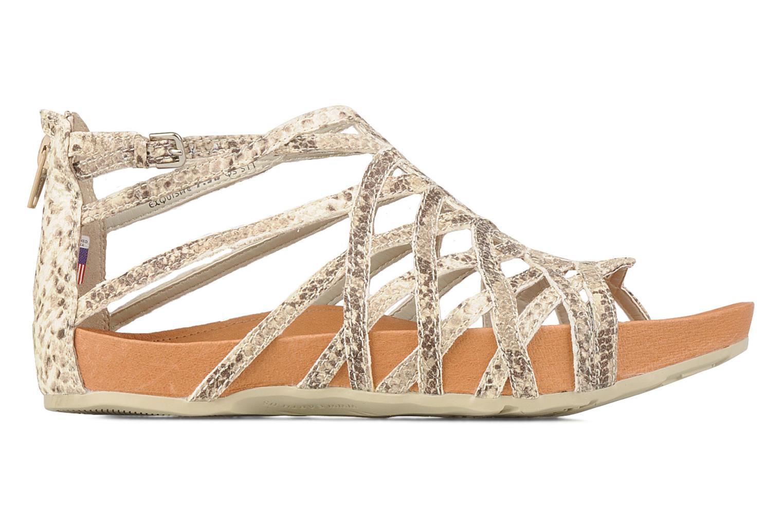 Sandales et nu-pieds Kalso Earth Exquisite Beige vue derrière