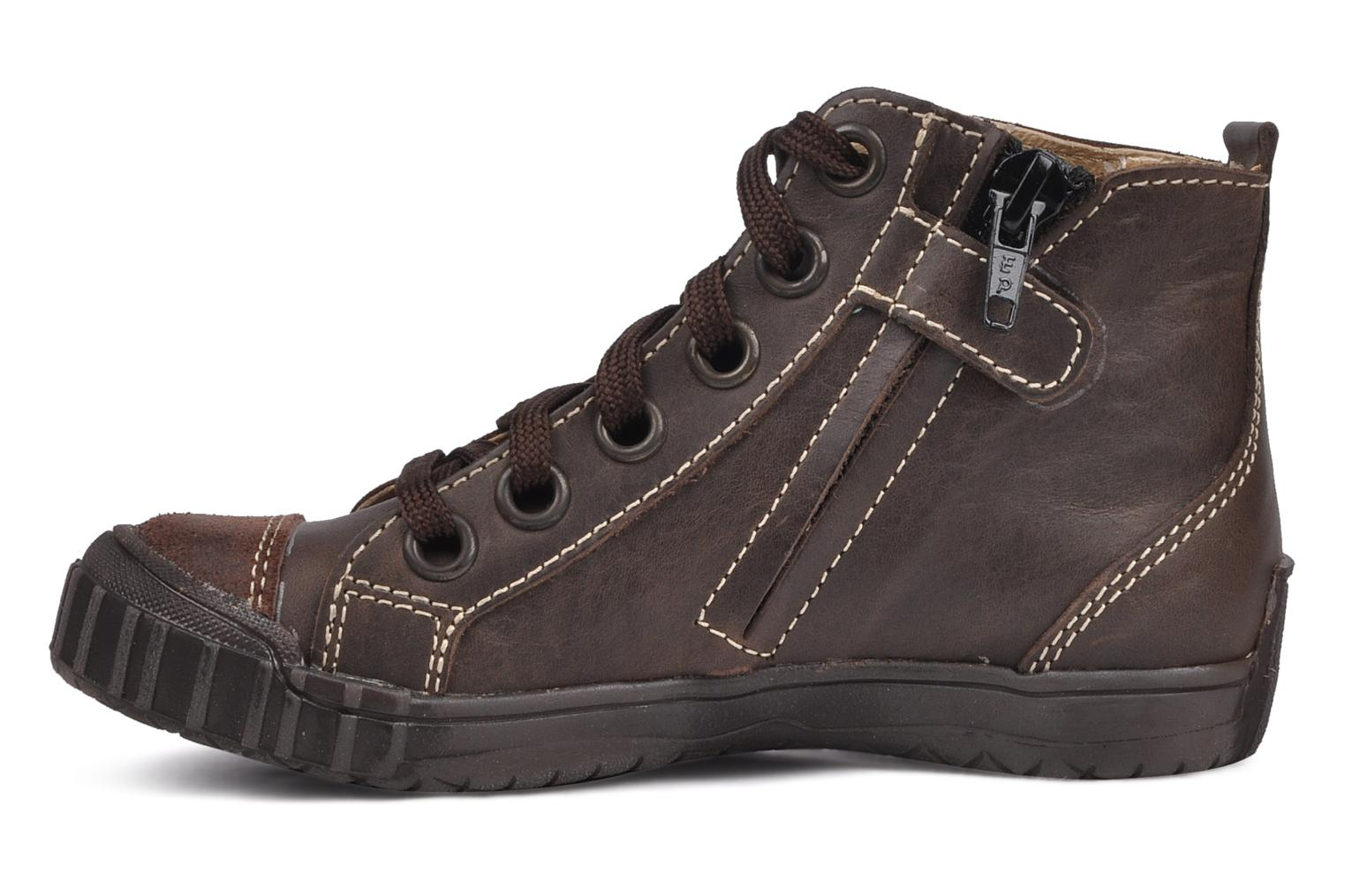 Ankle boots GBB Martin Brown front view