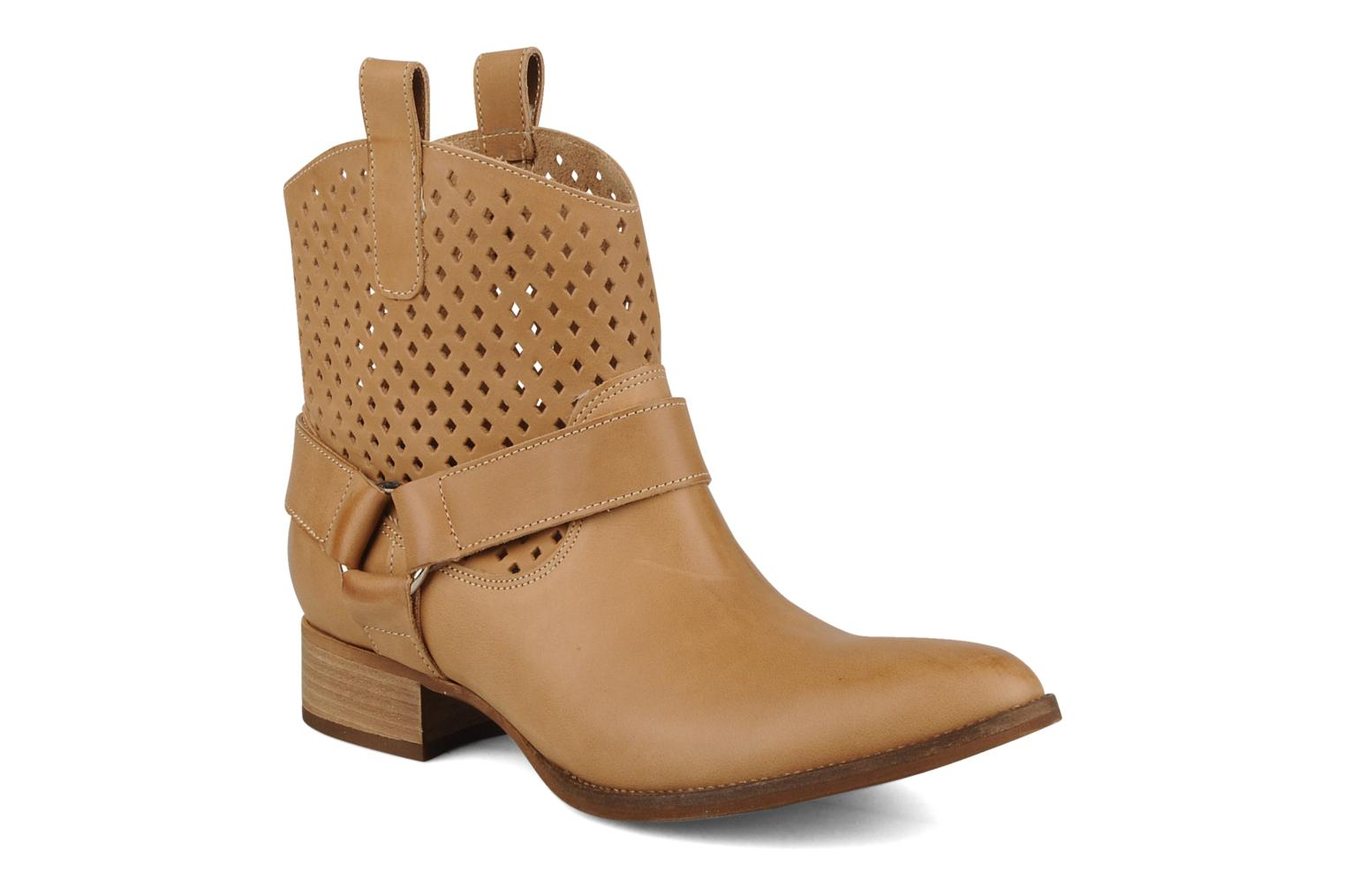 Ankle boots San Marina Alems Beige detailed view/ Pair view