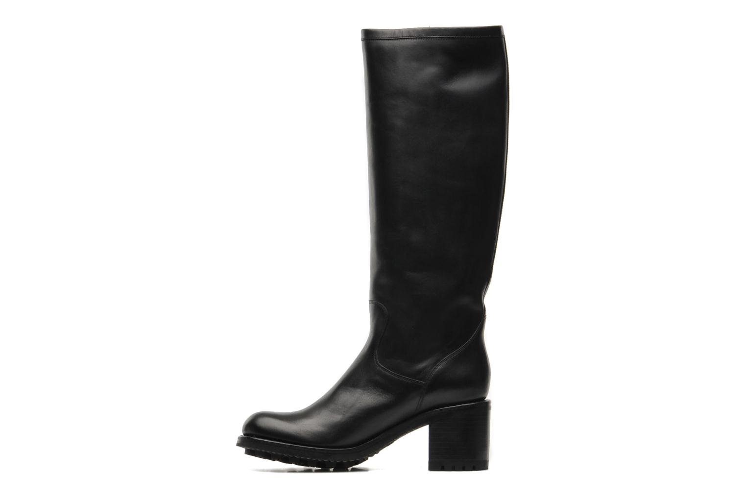 Boots & wellies Free Lance Biker 7 geronimo Black front view