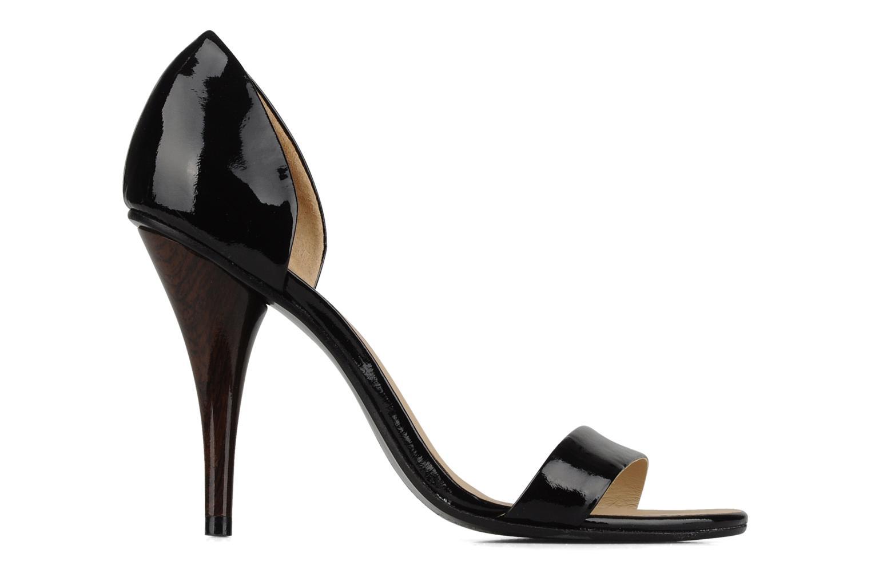 Sandales et nu-pieds COSMOPARIS Lolla Noir vue derrière
