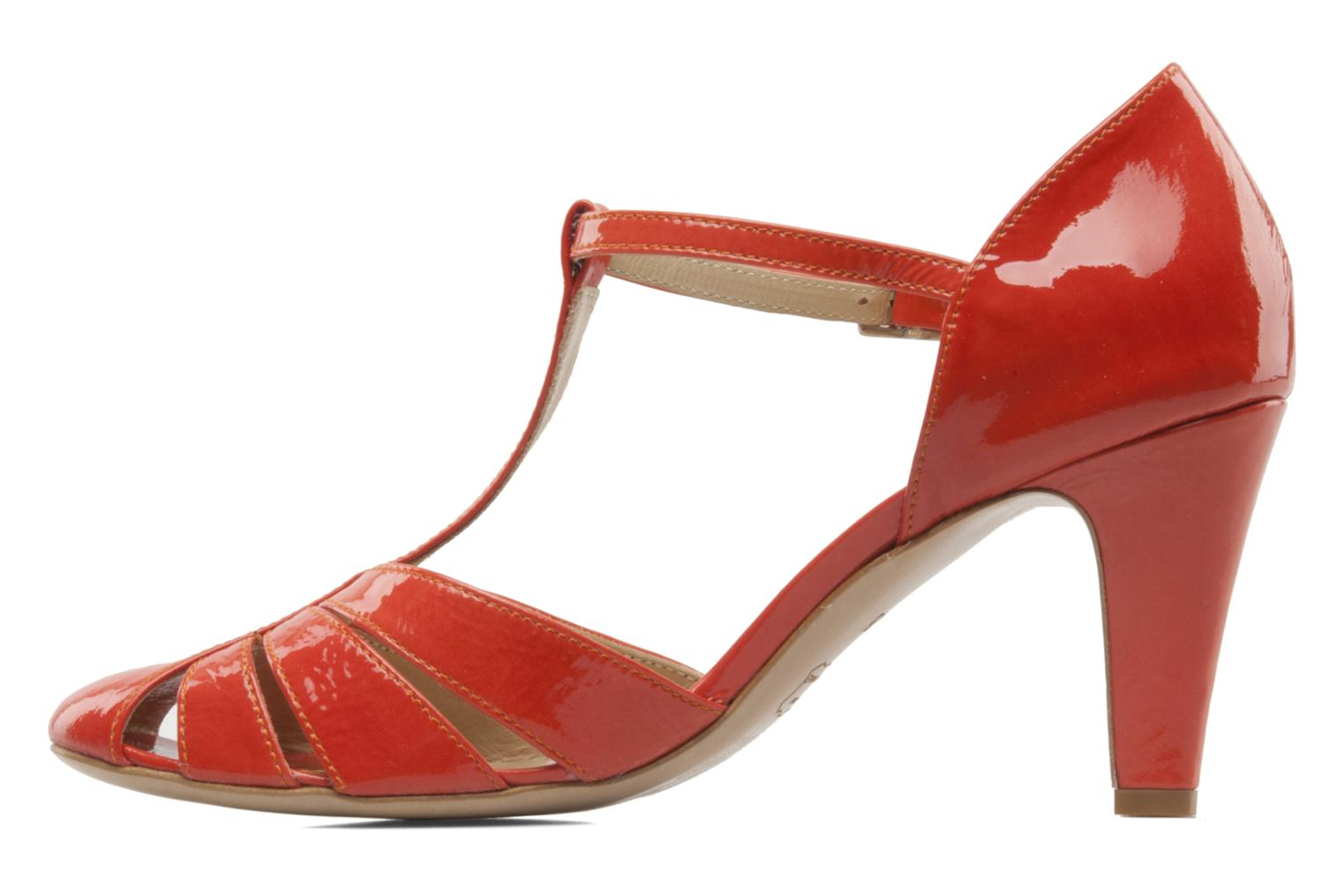 Pumps Georgia Rose Vareo orange ansicht von vorne