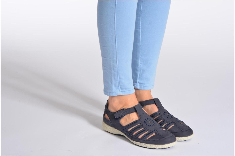 Sandales et nu-pieds Allrounder by Mephisto Galina Noir vue bas / vue portée sac