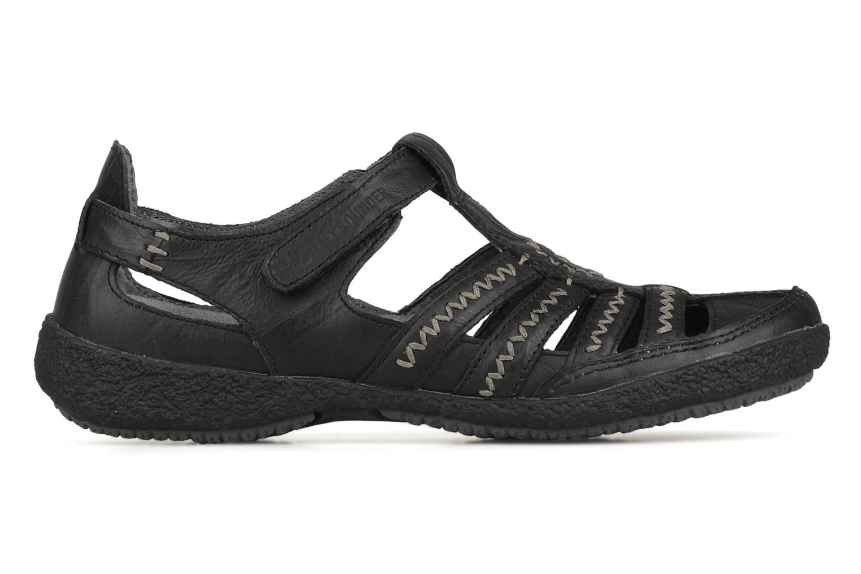Sandales et nu-pieds Allrounder by Mephisto Galina Noir vue derrière