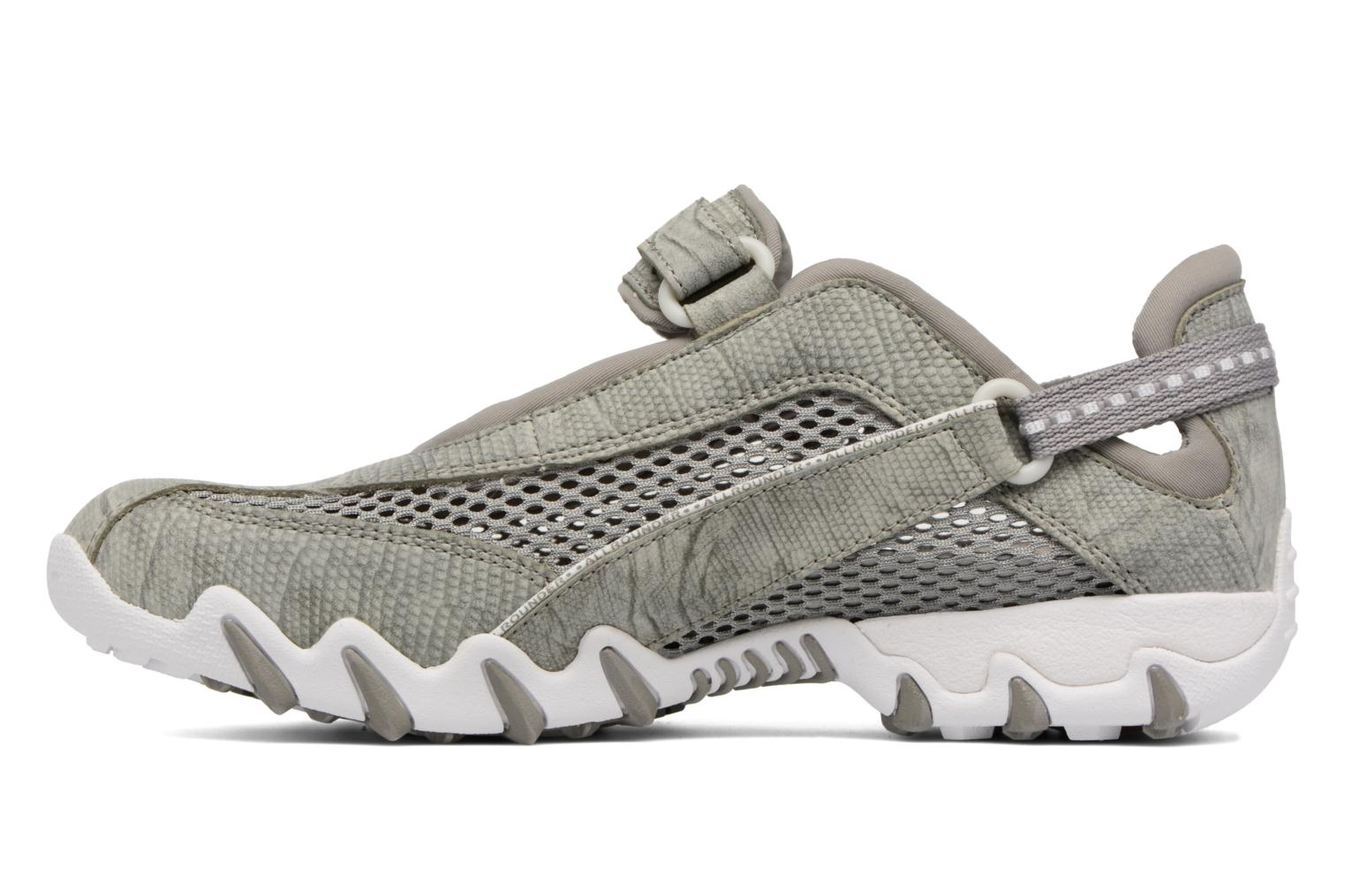 Sport shoes Allrounder by Mephisto Niro Grey front view