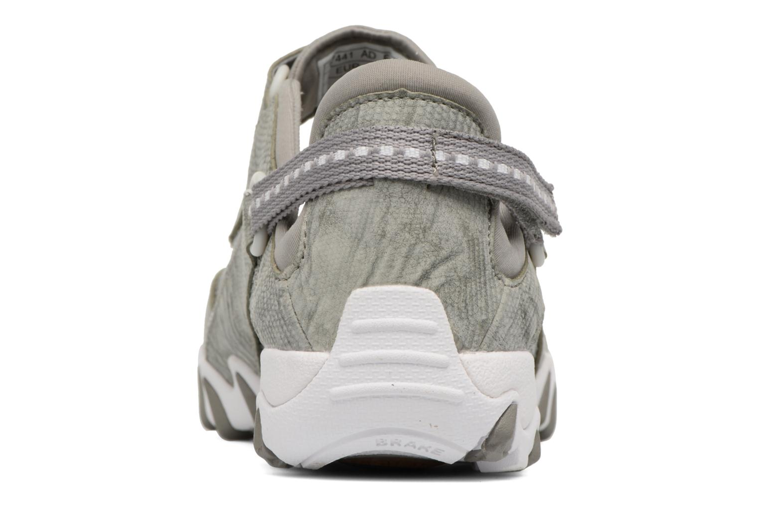 Sport shoes Allrounder by Mephisto Niro Grey view from the right