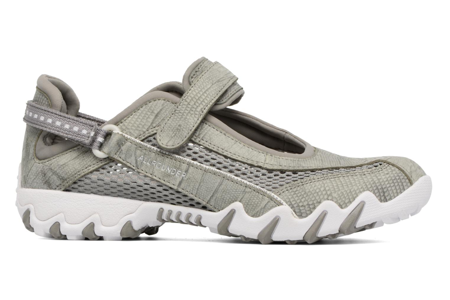 Sport shoes Allrounder by Mephisto Niro Grey back view