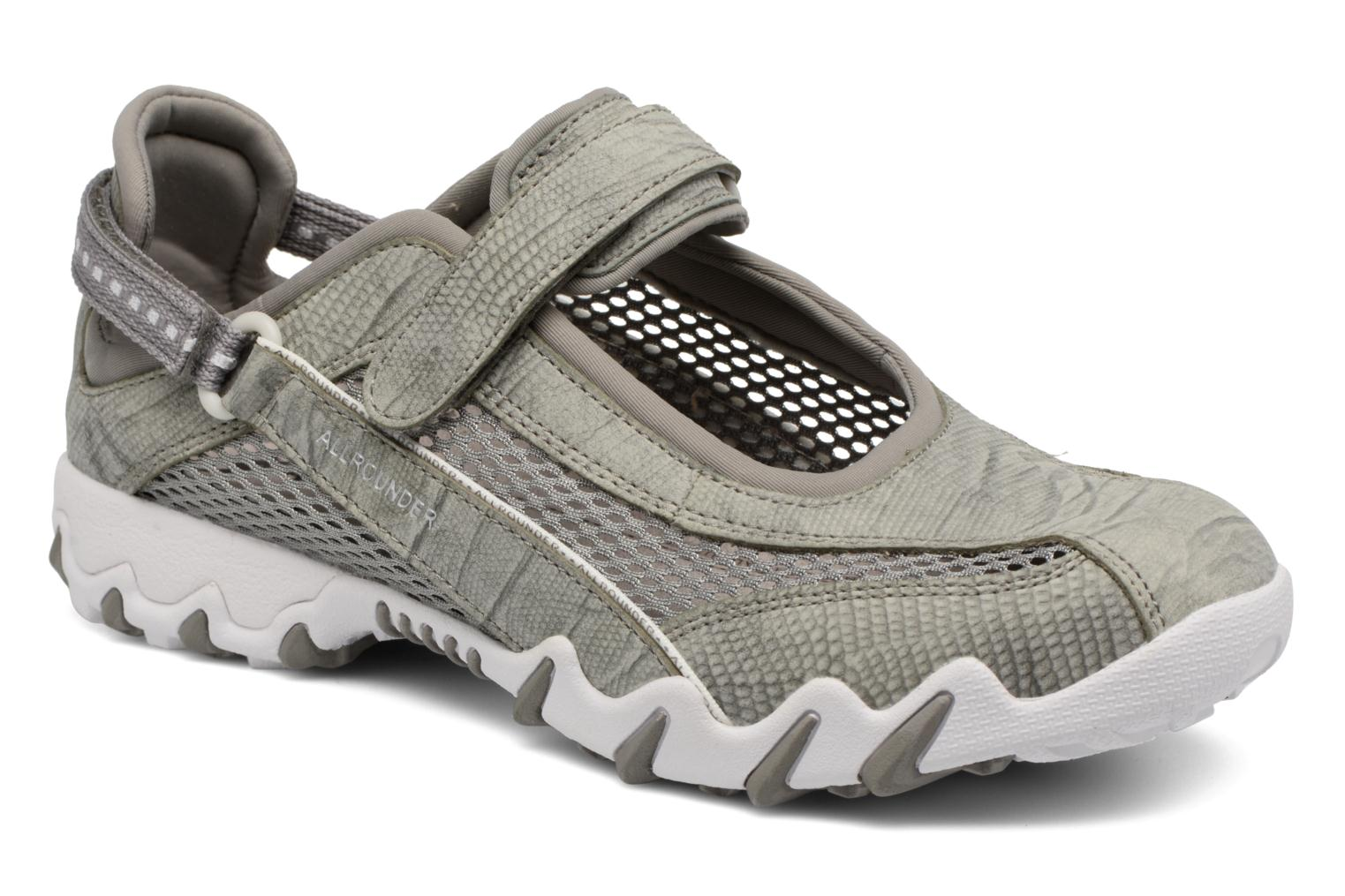 Sport shoes Allrounder by Mephisto Niro Grey detailed view/ Pair view