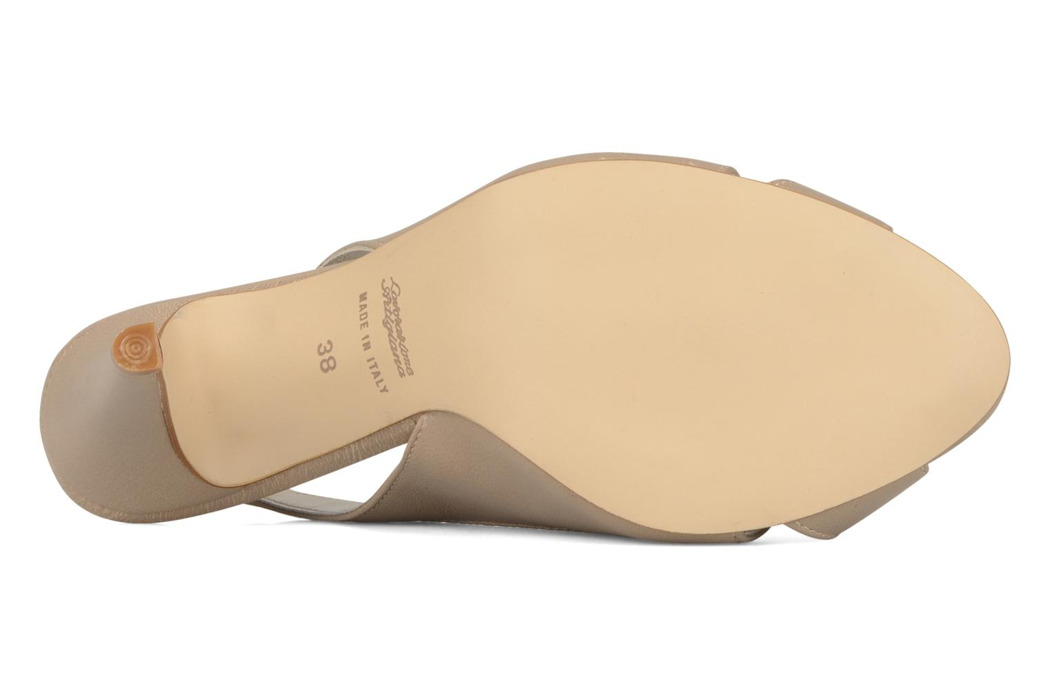 Sandals Georgia Rose Chiata Beige view from above