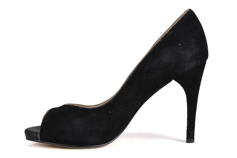 High heels Georgia Rose Macauliz Black front view