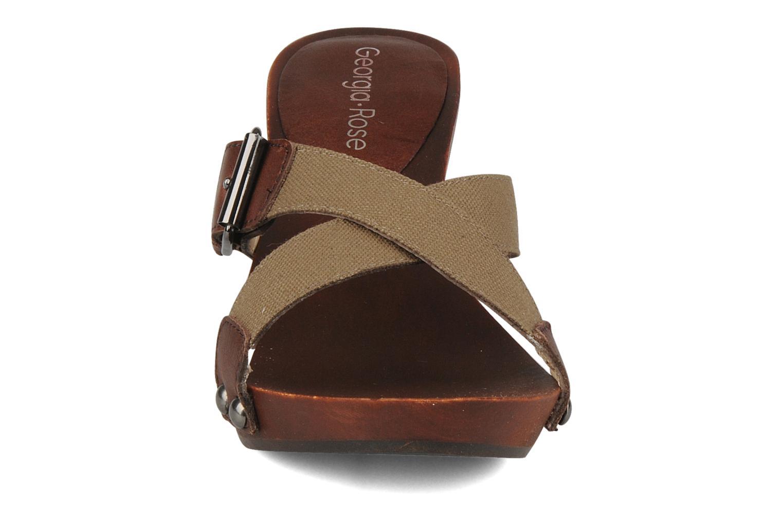 Träskor & clogs Georgia Rose Cheerie Brun bild av skorna på