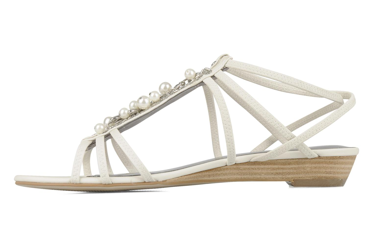 Sandals Guess Trina White front view